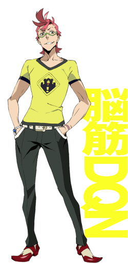 """""""Make him like Space Dandy except even more intolerable."""""""