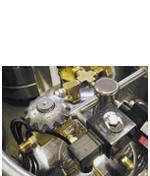 dedicated solenoid port for liquid nitrogen dewar