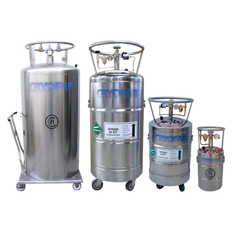 liquid nitrogen tank sizes