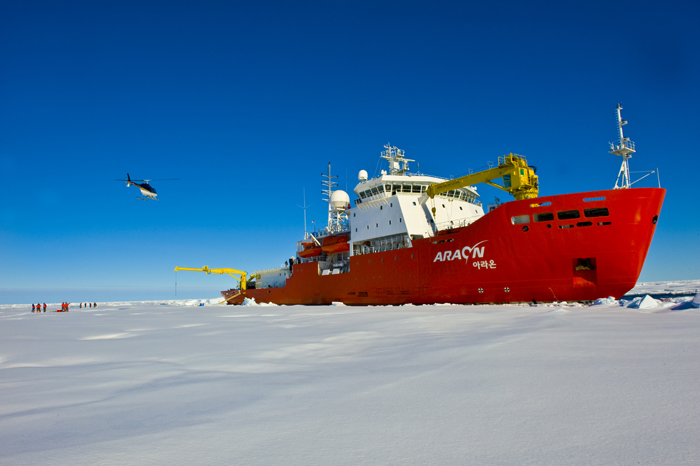 RV Araon South Korea icebreaker