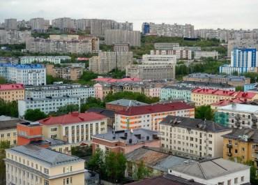 Murmansk, Russia.