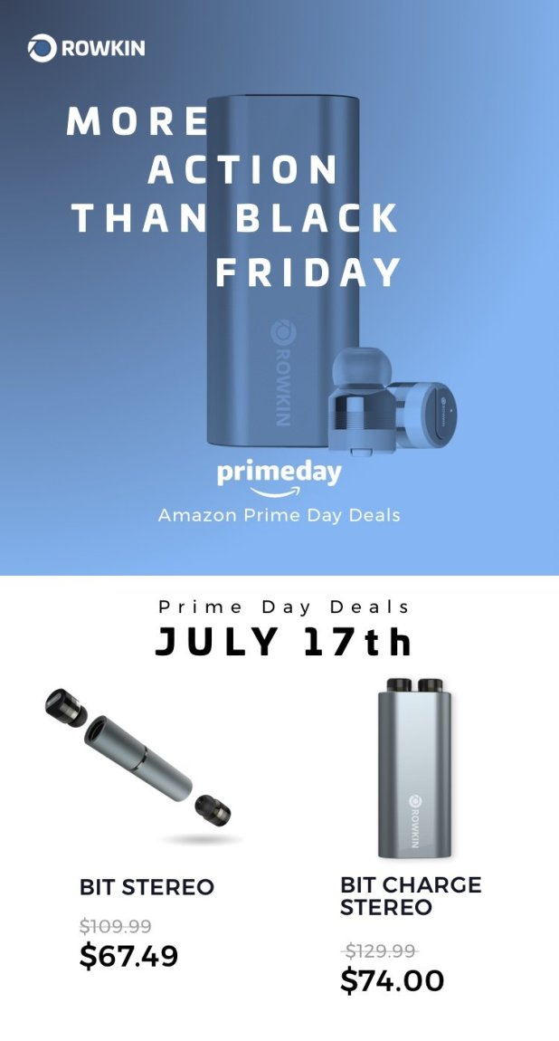 Rowkin Wireless Earbuds Amazon Prime Day Sale Android News All Bytes Martin Ottawa Canada