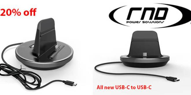 RND Accessories USB-C to USB-C charging dock!
