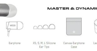 Master & Dynamic ME03 in-ear headphones