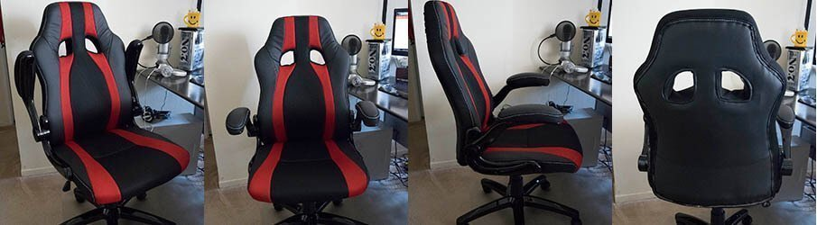 HOGANAS Office Chair is slick looking, feels good and I love it! 1