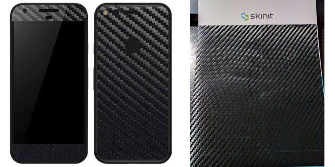 Skinit Google Pixel carbon fibre skin