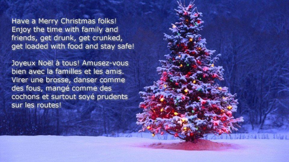 Christmas Joyeux Noël
