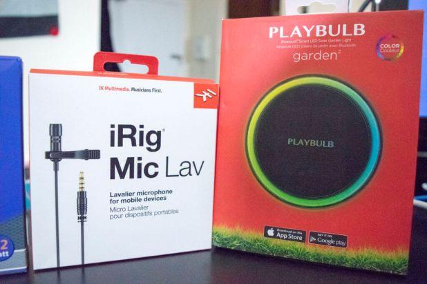 iRig Miclav - Playbulb Garden