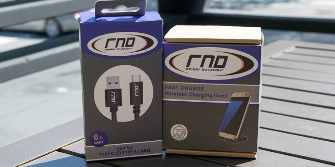 RND Accessories cryovex USB-C and Wireless Fast Charging dock