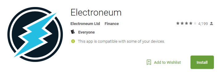 Cryptocurrency mobile miner for ETN now available on your smartphone!