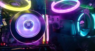 ICETEK 3 Case Fans RGB LED Kit ($31 CAD)