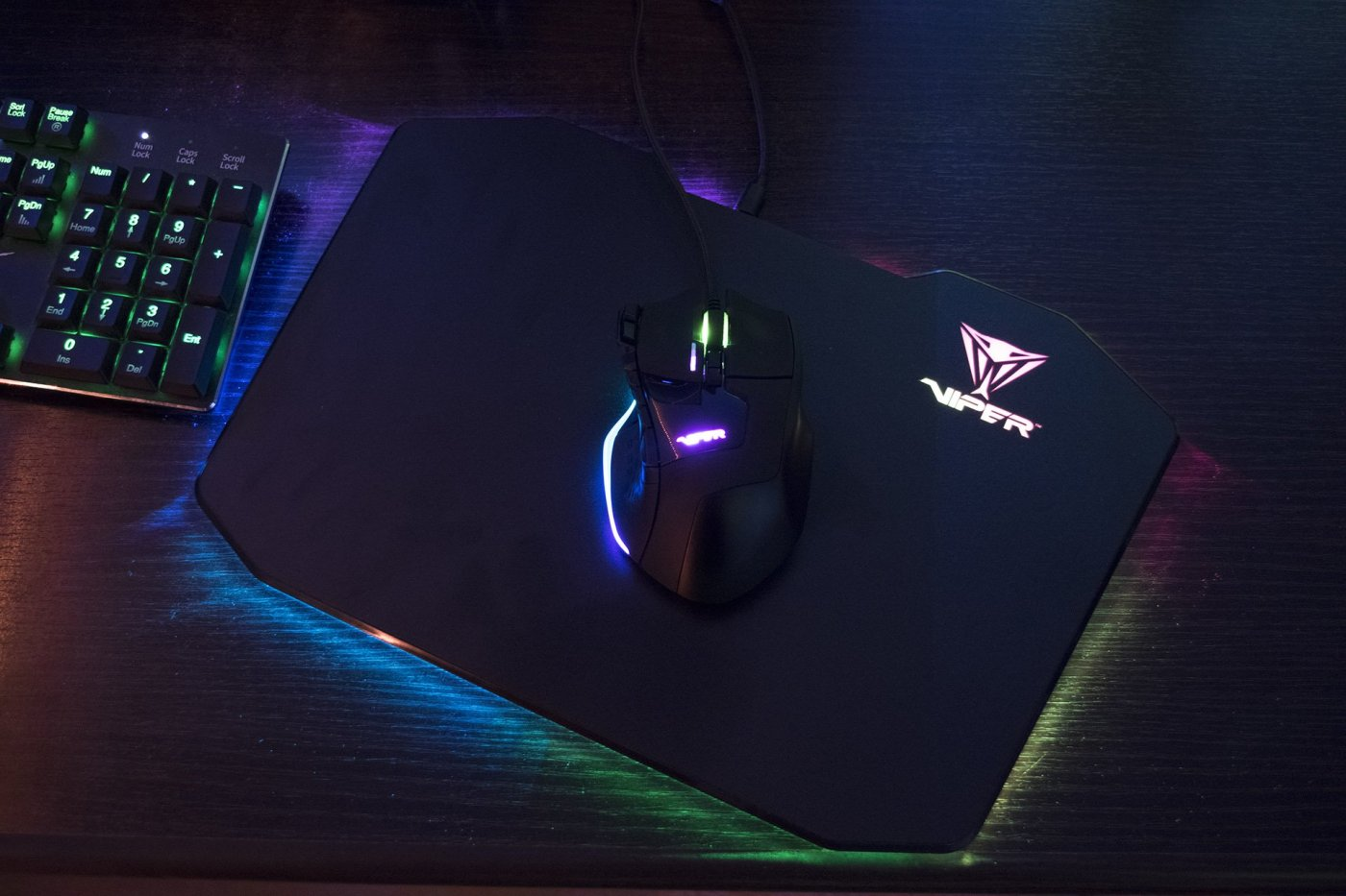 Viper Gaming V570 Mouse & Mouse Pad