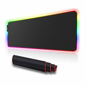 LUXCOMS Gaming Mouse Pad RGB