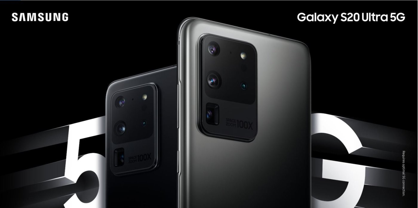 The Samsung Galaxy S20 series is Samsung's first, full 5G flagship lineup, featuring unprecedented 5G and AI camera technologies, built for the future of communications.