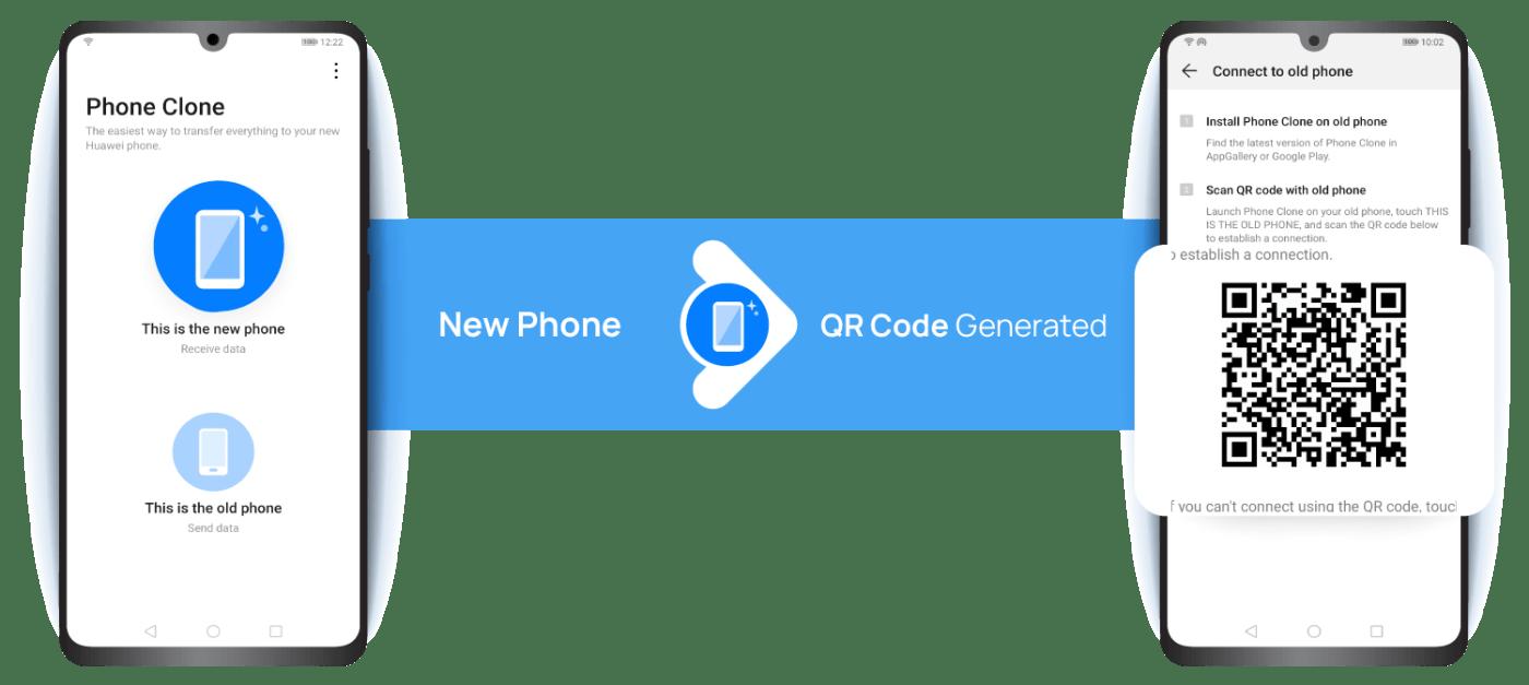 How-to Transfer Phone to Phone Huawei P40 series