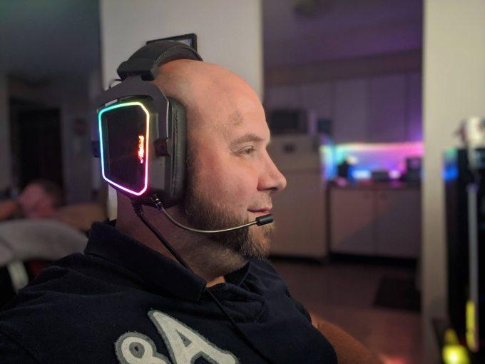Gaming Headset Patriot Viper V380 Review testing