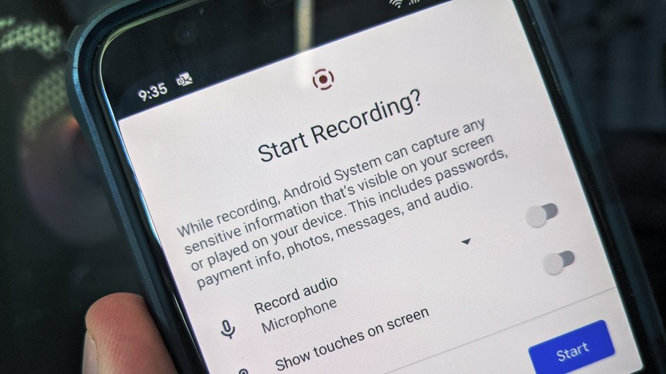 How-to Screen Record Android 11