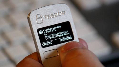 trezor wallet pour bitcoin et autres altcoins
