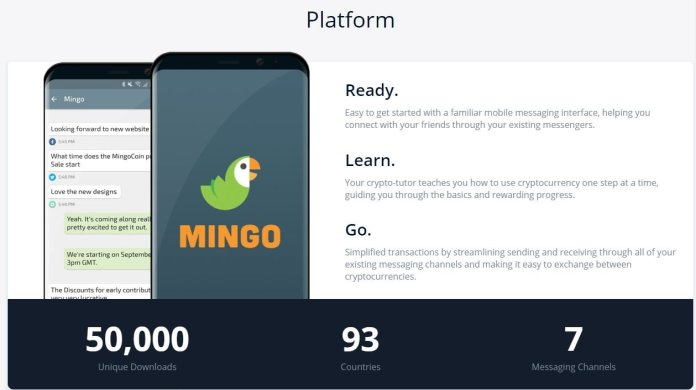 Image result for mingo app messaging service