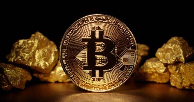 إرتفاع سعر البيتكوين يسبب انخفاظ في قيمة الذهب