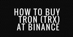 كيفية شراء واستثمار الترون TRX