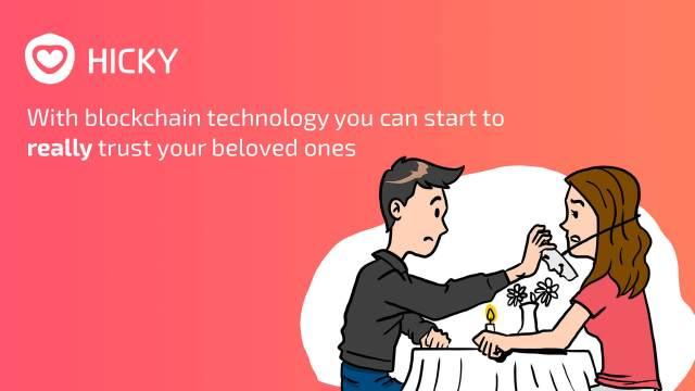 تطبيق Hicky للتعارف القائم على البلوكشين يطلق حملة البيع الأولي ICO