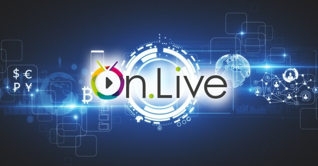 مشروع ON.LIVE يطلق حملة العرض الأولي للعملة ICO