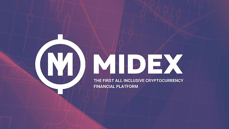 منصةMidex المرخصة لتبادل العملات الرقمية المشفرة تطلق حملة البيع الأولي للعملة ICO