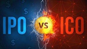 الفرق بين الاكتتاب العام الأولي IPO و طرح العملات الأولية ICO
