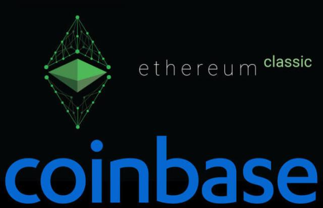 منصة Coinbase تضيف Ethereum Classic الی Coinbase Pro