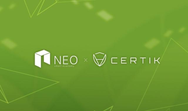 NEO تدخل في شراكة مع CertiK لتعزيز أمن العقود الذكية