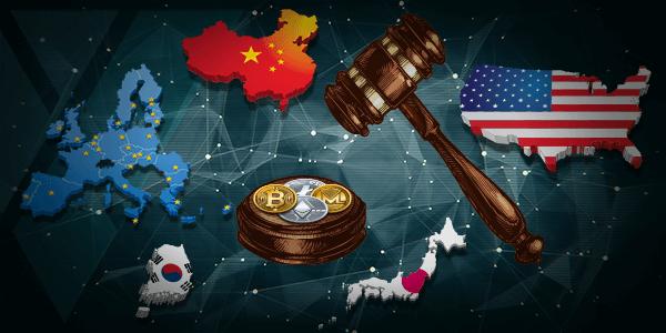 دول العالم تتسابق لوضع قوانين تنظيم و تشريع العملاتالرقميةالمشفرة