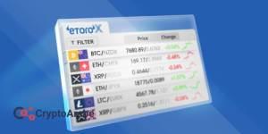 منصة التداول الاجتماعي eToro اطلقت منصة كاملة لتبادل العملات المشفرة