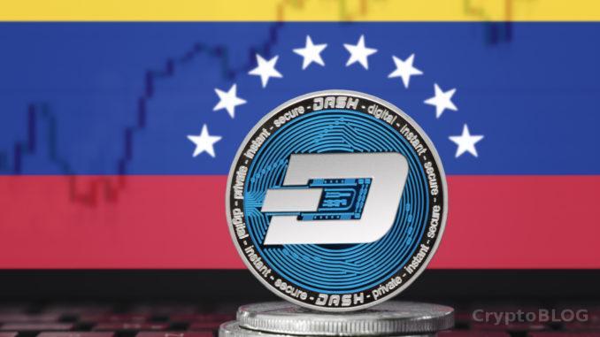 Dash растет в цене на фоне запуска нового сервиса в Венесуэле