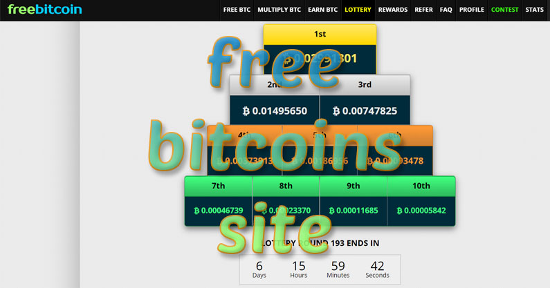 free bitcoins site