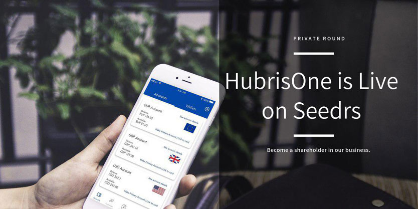 HubrisOne Launches Private Seed Round on Seedrs