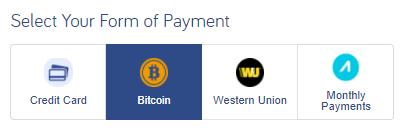 bitcoin vliegtickets