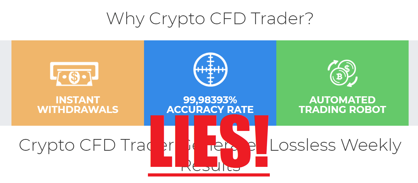 Jangan percaya trading cryptocurency!