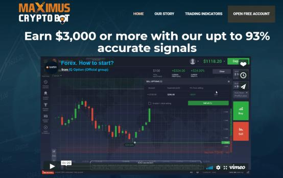 Maximus Crypto Bot App
