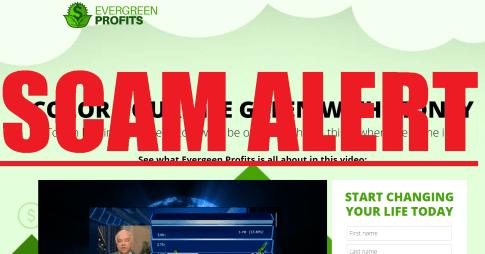 Evergreen Profits scam alert