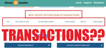 Bitcoin Doubler Scam Alert