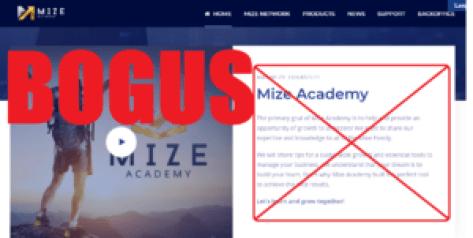 Mize Network Alert