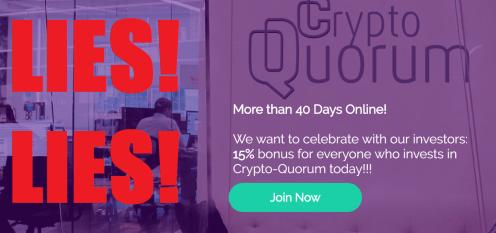 Crypto Quorum Alert
