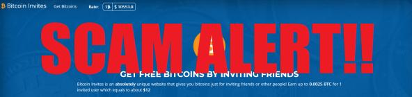 Bitcoin Invites Alert