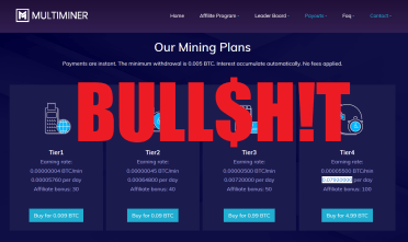 Multiminer Alert