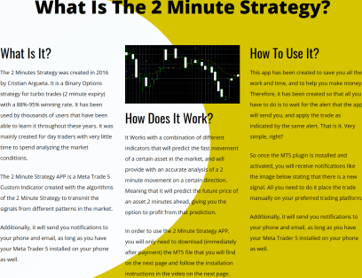 2 Minute Strategy App