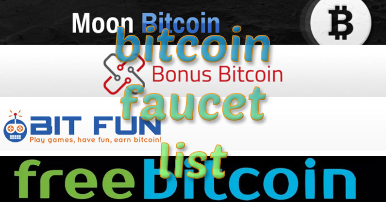 Daily Bitcoin Faucet List Of Top Bitcoin Exchanges