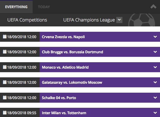 mbet btc champions league betting