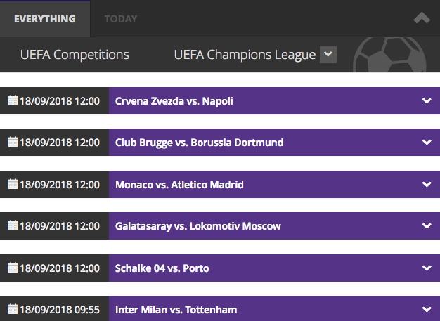 mbet btc champions league betting