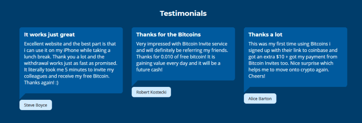 BitcoinInvites